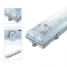 TUBE LED ÉTANCHE IP65 2 x 120