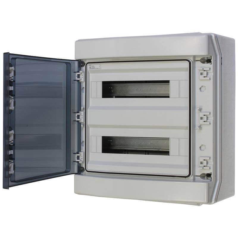 Coffret étanche IP 55 2X18 Modules