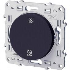 Schneider Odace Interrupteur VMC Anthracite