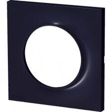 Schneider Odace Plaque Simple Anthracite