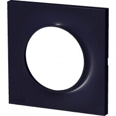 Schneider Odace Plaque Simple Anthracite