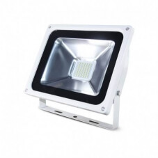 Projecteur Exterieur LED Plat Blanc 30W 6000°K