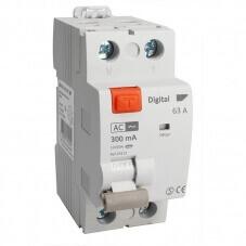 Interrupteur Différentiel Bipolaire 63A Type AC 300mA