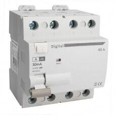 Interrupteur Différentiel Tetrapolaire 40A Type A 30mA