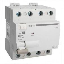 Interrupteur Différentiel Tetrapolaire 63A Type A 30mA