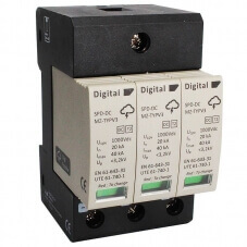 Parafoudre 1000 V DC Digital Electric