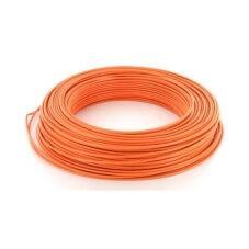 Fil rigide HO7VU - 1,5mm² Orange par 100m