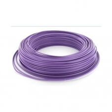 Fil rigide HO7VU - 1,5mm² Violet