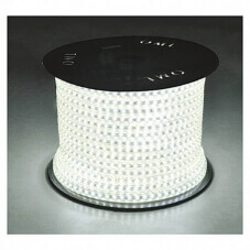 Led 4000°k au metres 8w/m 230V ip65