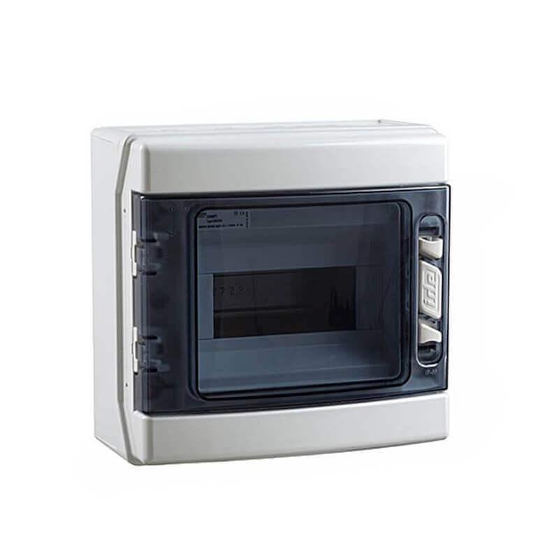 Coffret étanche IP 55 8 Modules