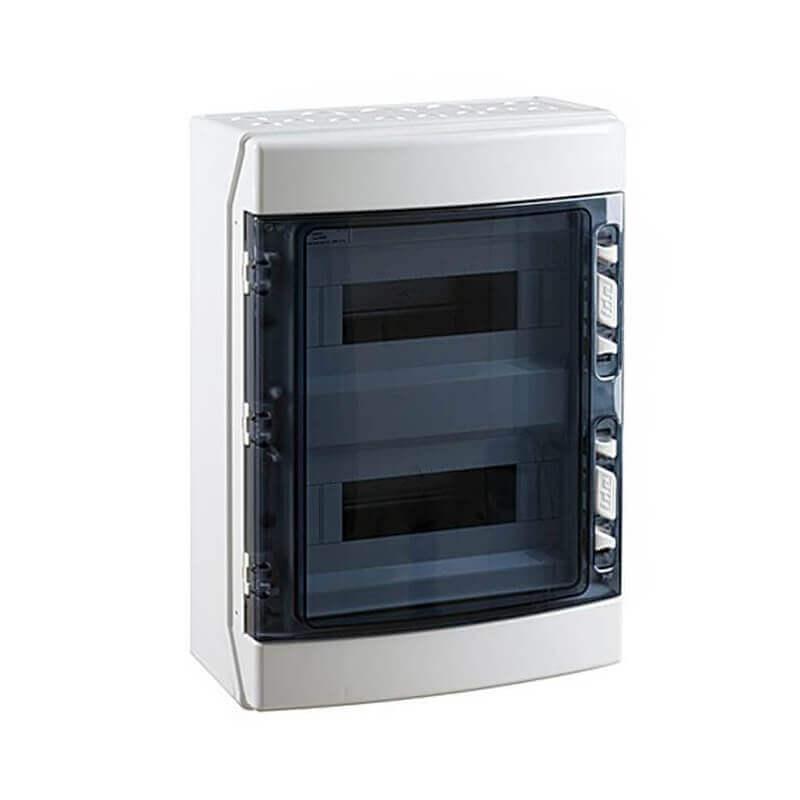 Coffret étanche IP 55 2X12 Modules