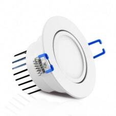 Spot LED Orientable avec Alimentation Electronique 5W