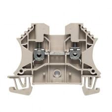 Bloc de jonction de passage à vis 4mm² X100