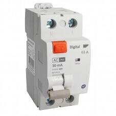 Interrupteur Différentiel Bipolaire 63A Type AC 30mA