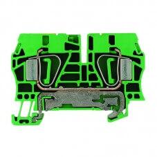 Bloc de jonction de terre automatique 4mm² X50