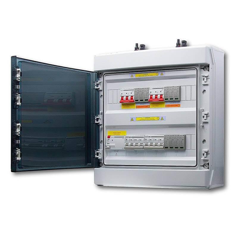Coffret photovoltaïque AC/DC 6KW double tracker