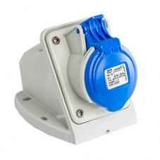 Prise de courant Européenne socle 2P+T  16A - 220V IP 44
