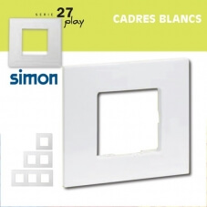 Cadres Blancs Simon 27 Play