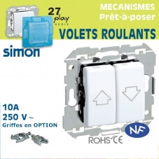 Commande Volets Roulants Simon 27 Play