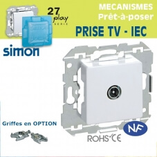Prise TV - IEC Simon 27 Play