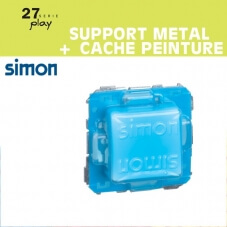 Support metallique + Cache peinture Simon 27 Play